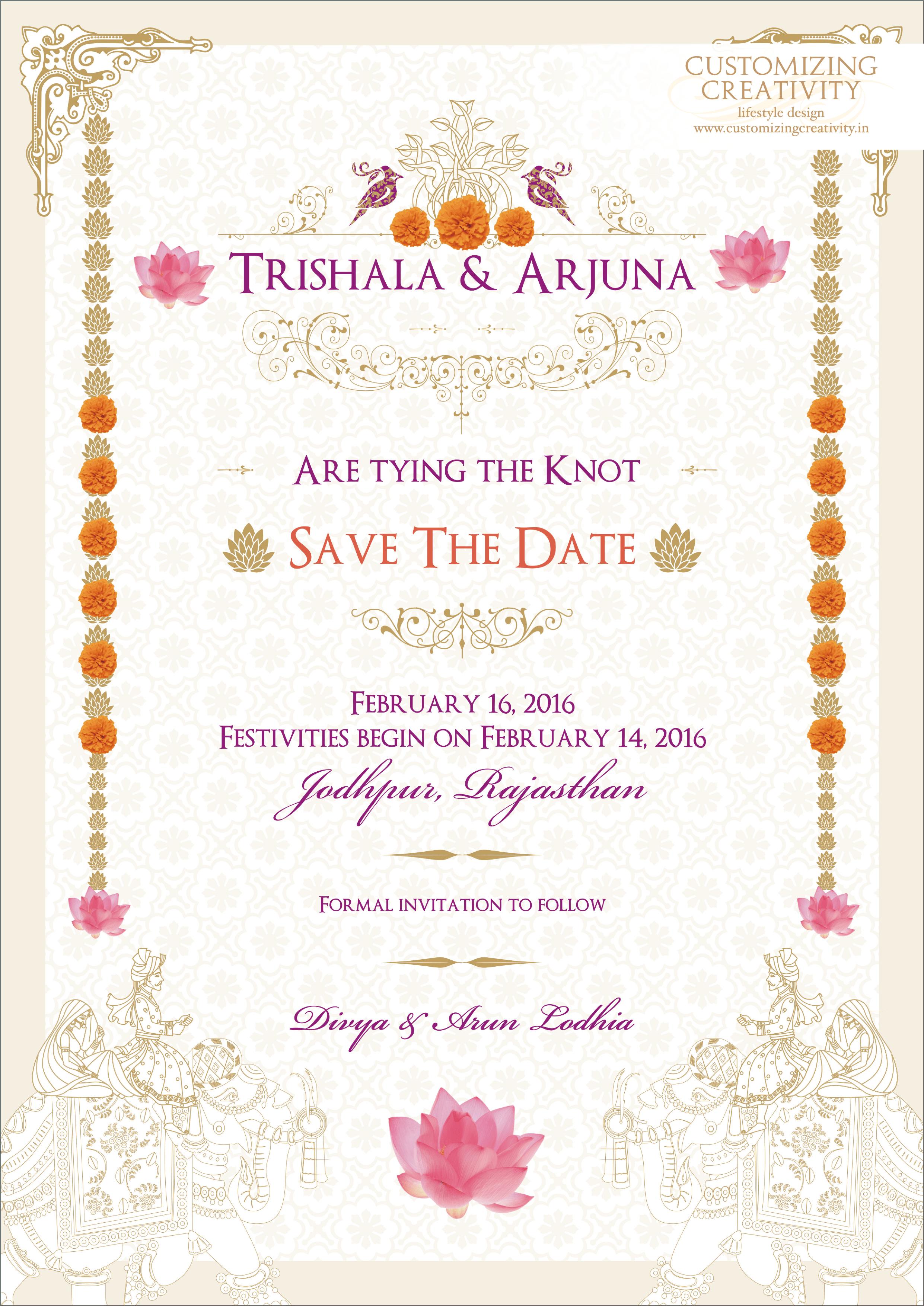 Wedding Invitation Cards Indian Invites