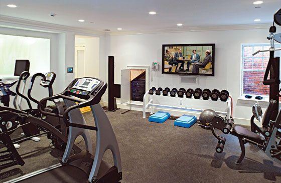 trucs pour cr er son gym la maison salle de sport maison salle et gym a la maison. Black Bedroom Furniture Sets. Home Design Ideas