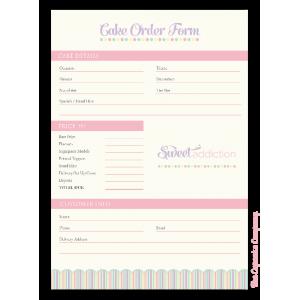 Wedding cake order form | Cakes...Decorating | Pinterest