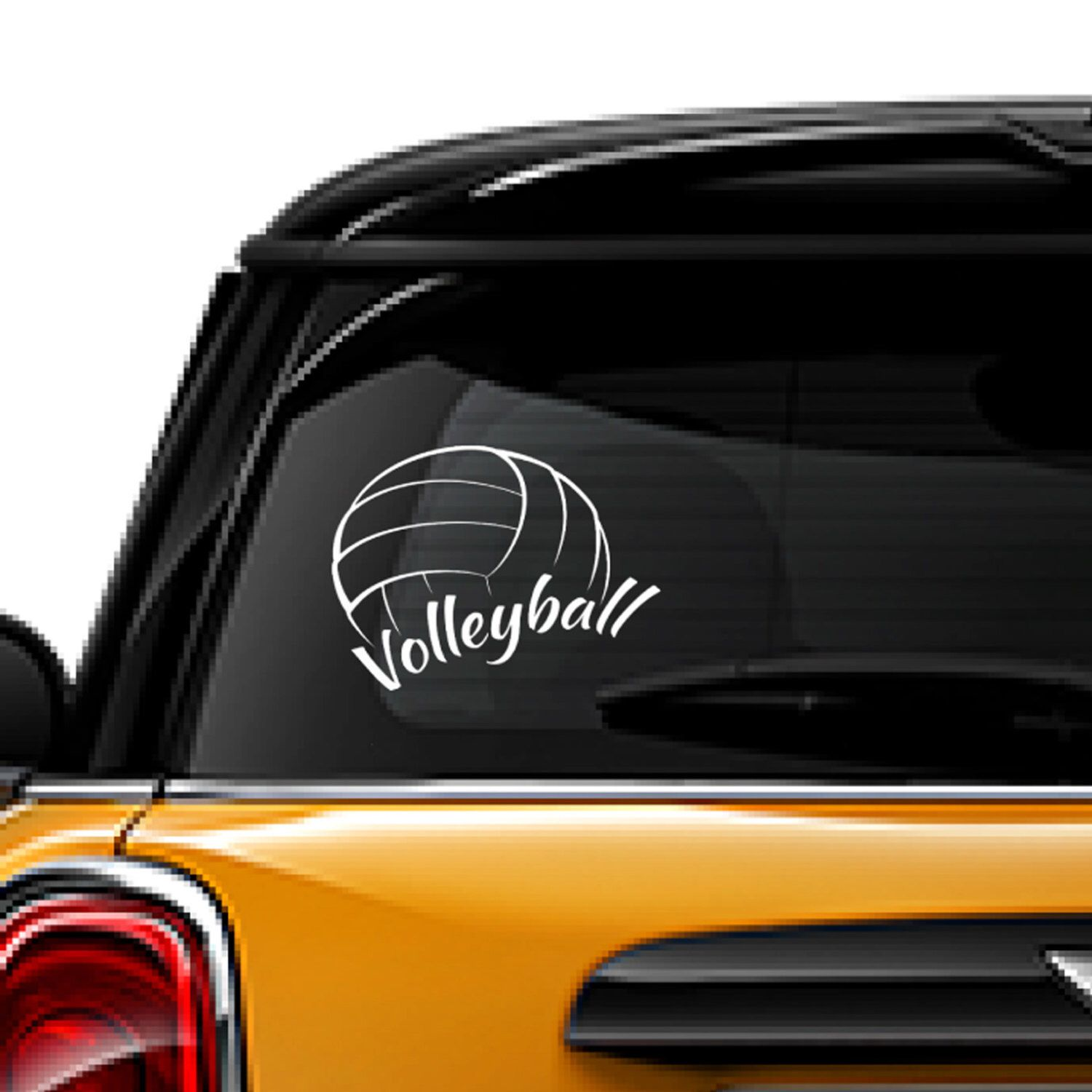 Volleyball Decal Sports Decal Window Sticker Free Shipping Sticker Decal White Vinyl Decal Laptop Decal Home D Cat Decal Bear Decal Vinyl Decal Stickers [ 1500 x 1500 Pixel ]