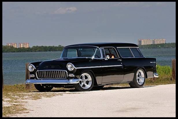 1955 Chevrolet Nomad Resto Mod Image 1 Of 8 1955 Chevrolet