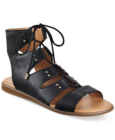 Tommy Hilfiger Beautie Flat Lace-Up Sandals