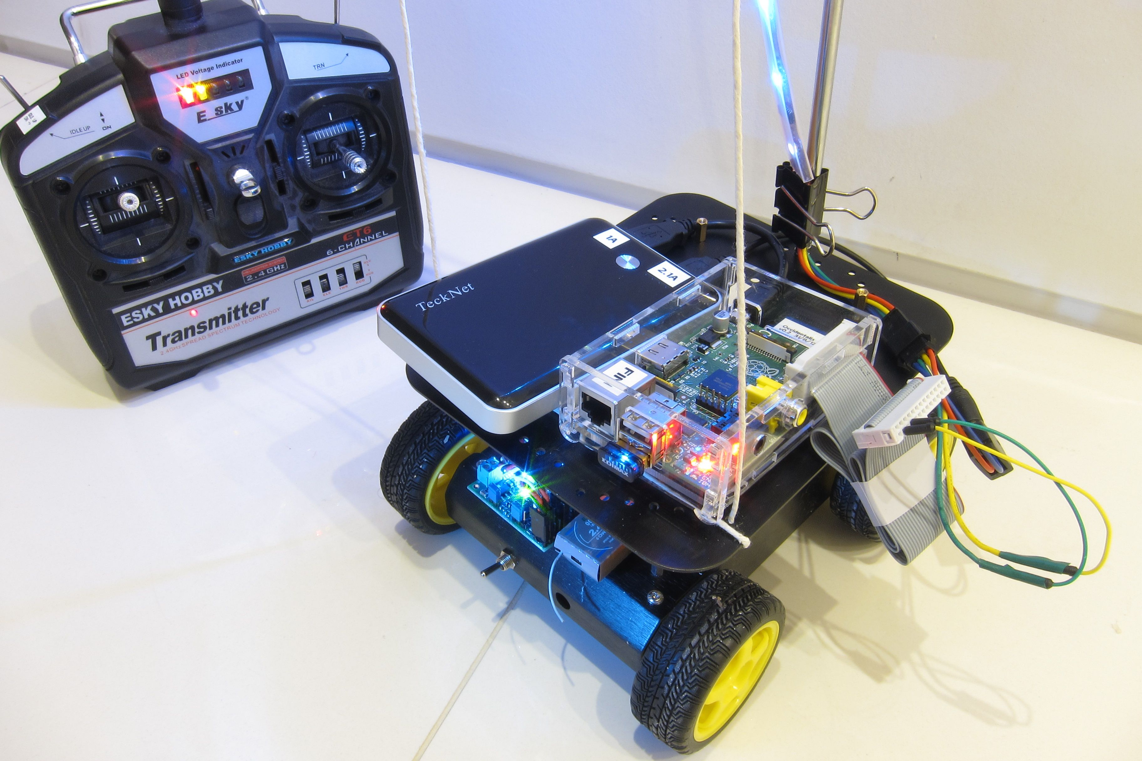 raspberry pi robot projects You can find out more in our guide to building a raspberry pi robot, including a  breakdown on the components you need, and step-by-step.