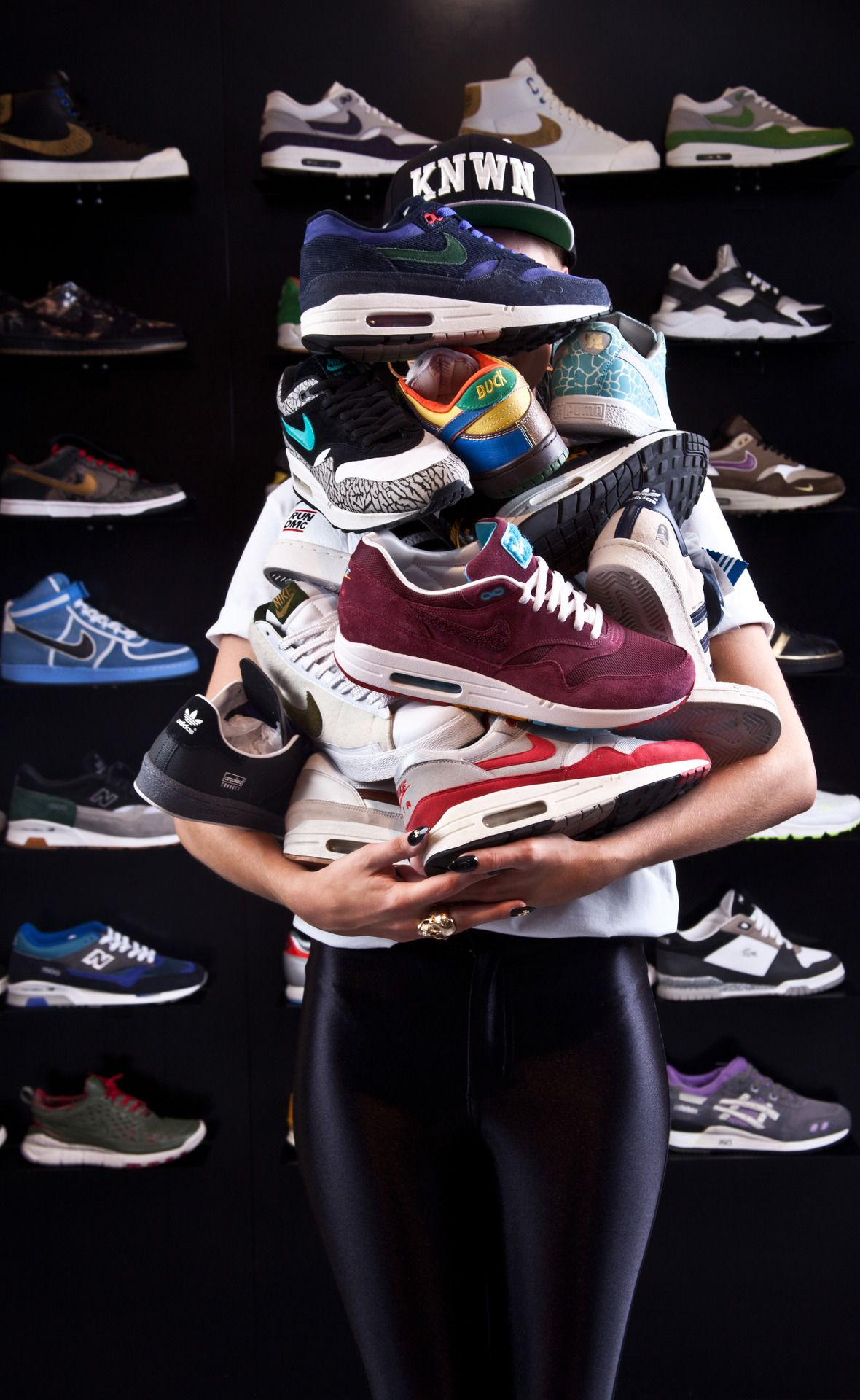 How many sneakers do ya have? Not enough!!;)