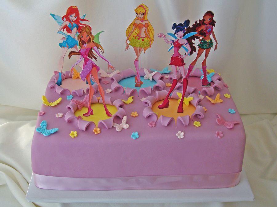 торт с днем рождения винкс картинки увидели мчавшиеся