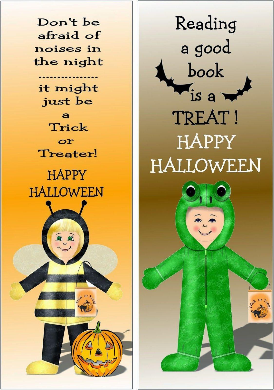 HALLOWEEN BOOKMARKS Halloween hacks, Halloween, Bookmarks