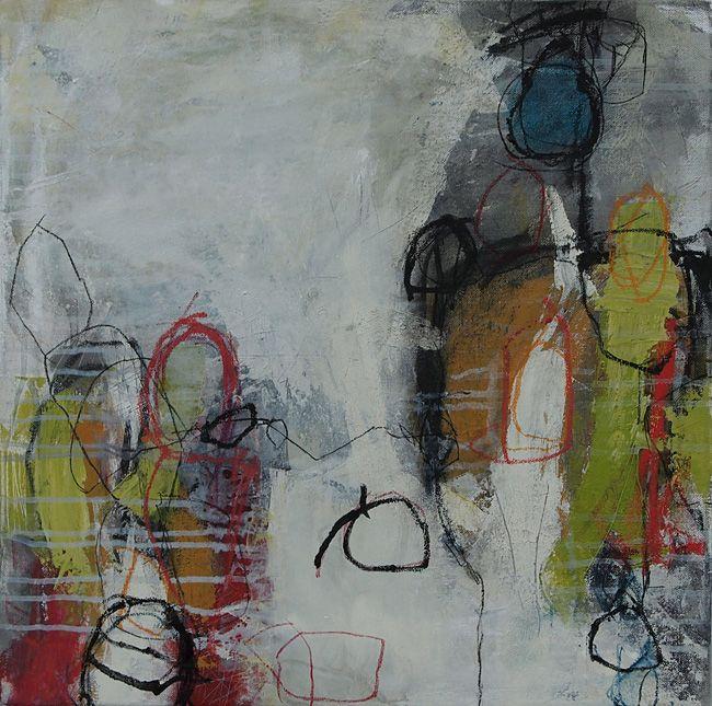 Abstrakte Malerei - Bild 209 - Keilrahmen 50x50x2cm | http ...