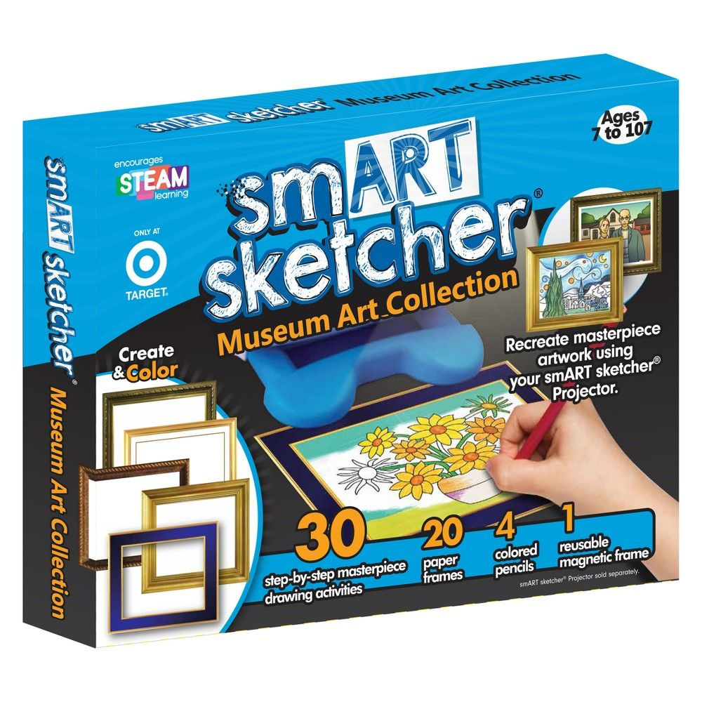 Smart Sketcher Picture This Masterpiece Art Kit Products Snap Circuitsr Deluxe Sound Light Combo Walmartcom