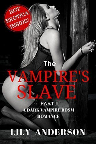 Remarkable, vampire story sex