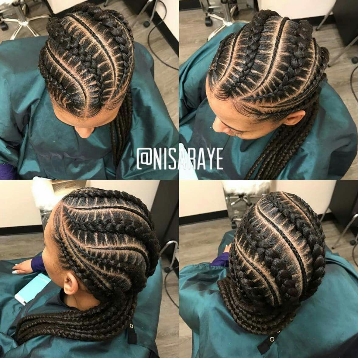 40 Totally Gorgeous Ghana Braids Hairstyles Braided
