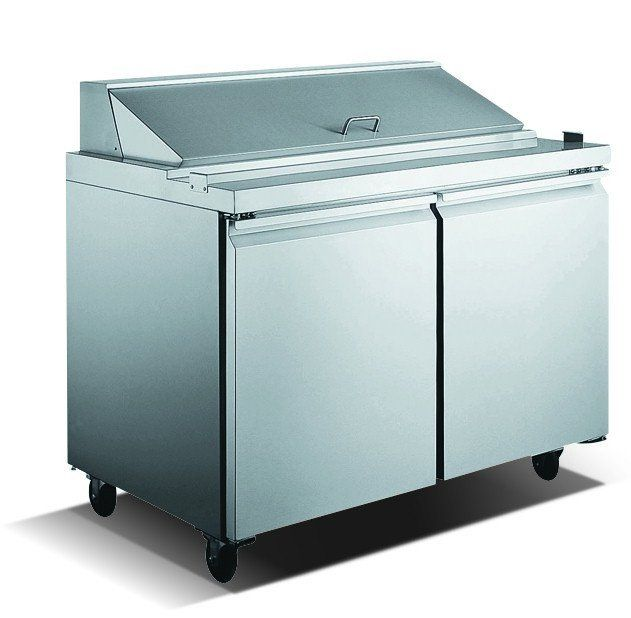 Stainless Steel Refrigerated Sandwich Prep Table Pinterest - Restaurant prep table cutting boards