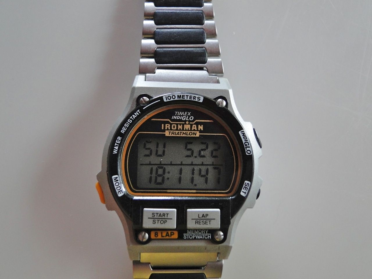 8fcd87a86d84 This is EDC watch number 2. It s a Timex Ironman 8 Lap. This watch ...