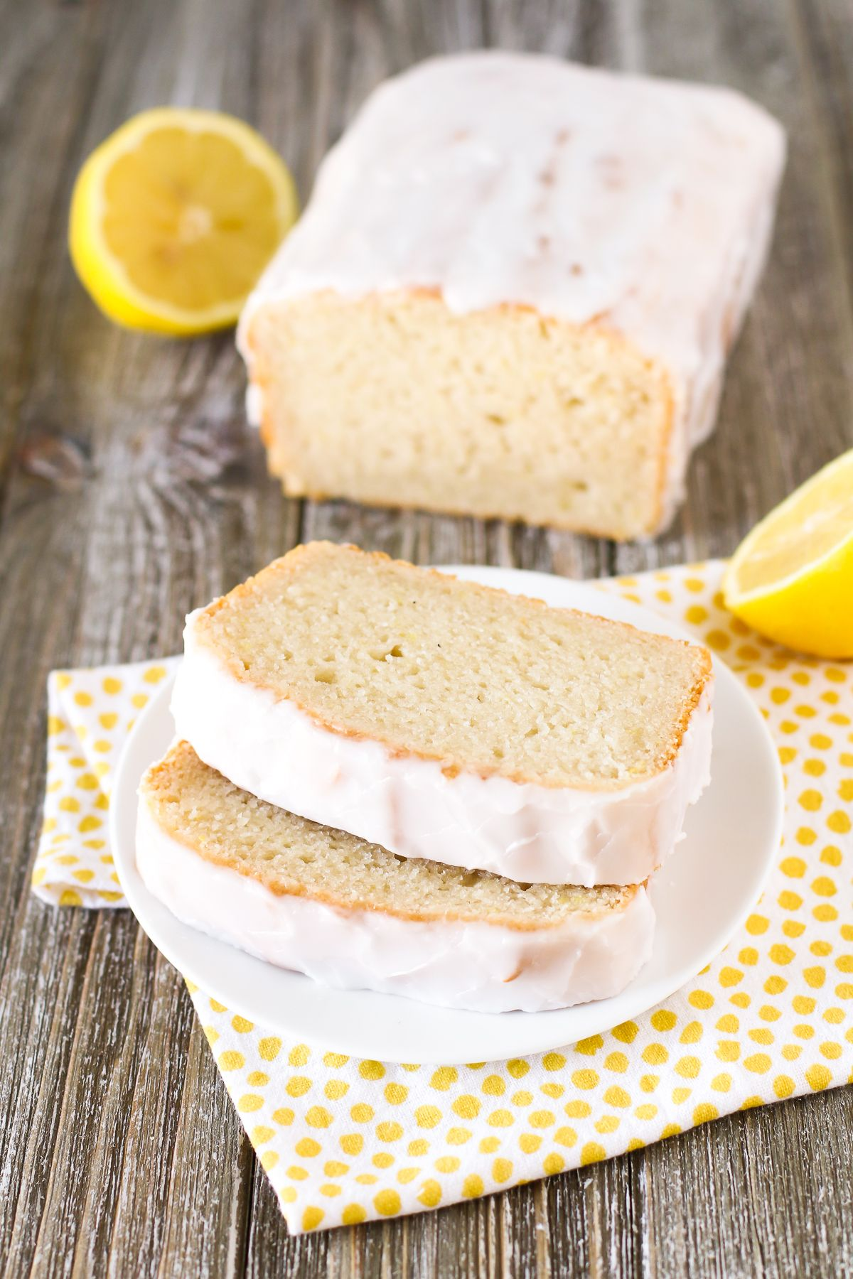 Gluten Free Vegan Lemon Pound Cake Recipe Gluten Free Lemon