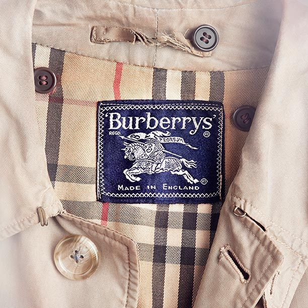 136b634190976 A badge of origin since the 1920s, the iconic Burberry check first appeared  on the lining of trench coats