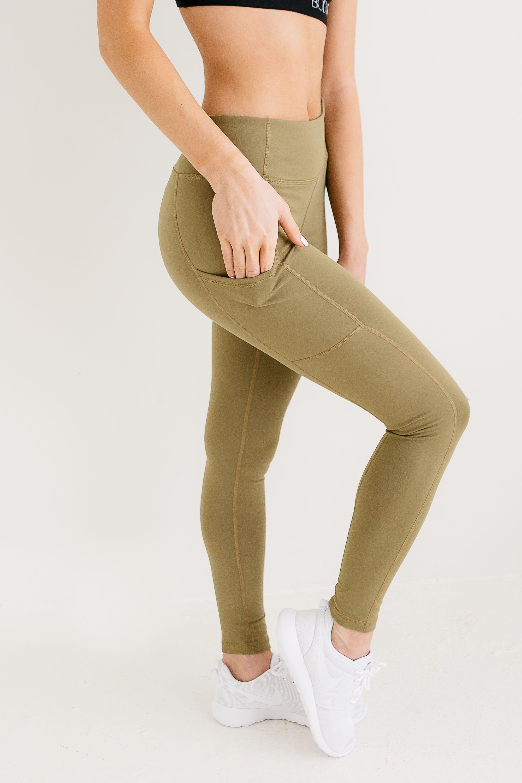 RENNegade Olive Green Leggings Green leggings