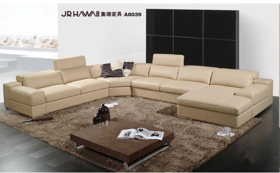 Elegant And Rational Genuine Real Leather Sofa Living Room Sofa Sectional U Shape Wholesale And Leather Corner Sofa Best Leather Sofa Leather Sofa Living Room