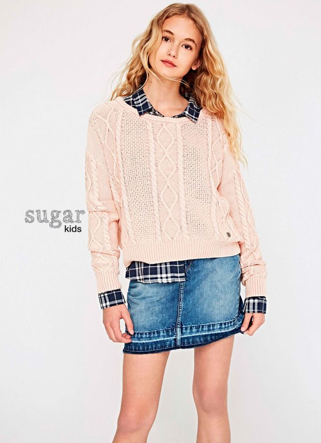 Teen Girl Clothing Maella From Sugar Kids For Pepe Jeans London