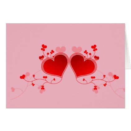 valentine hearts card heart cards red valentine heart
