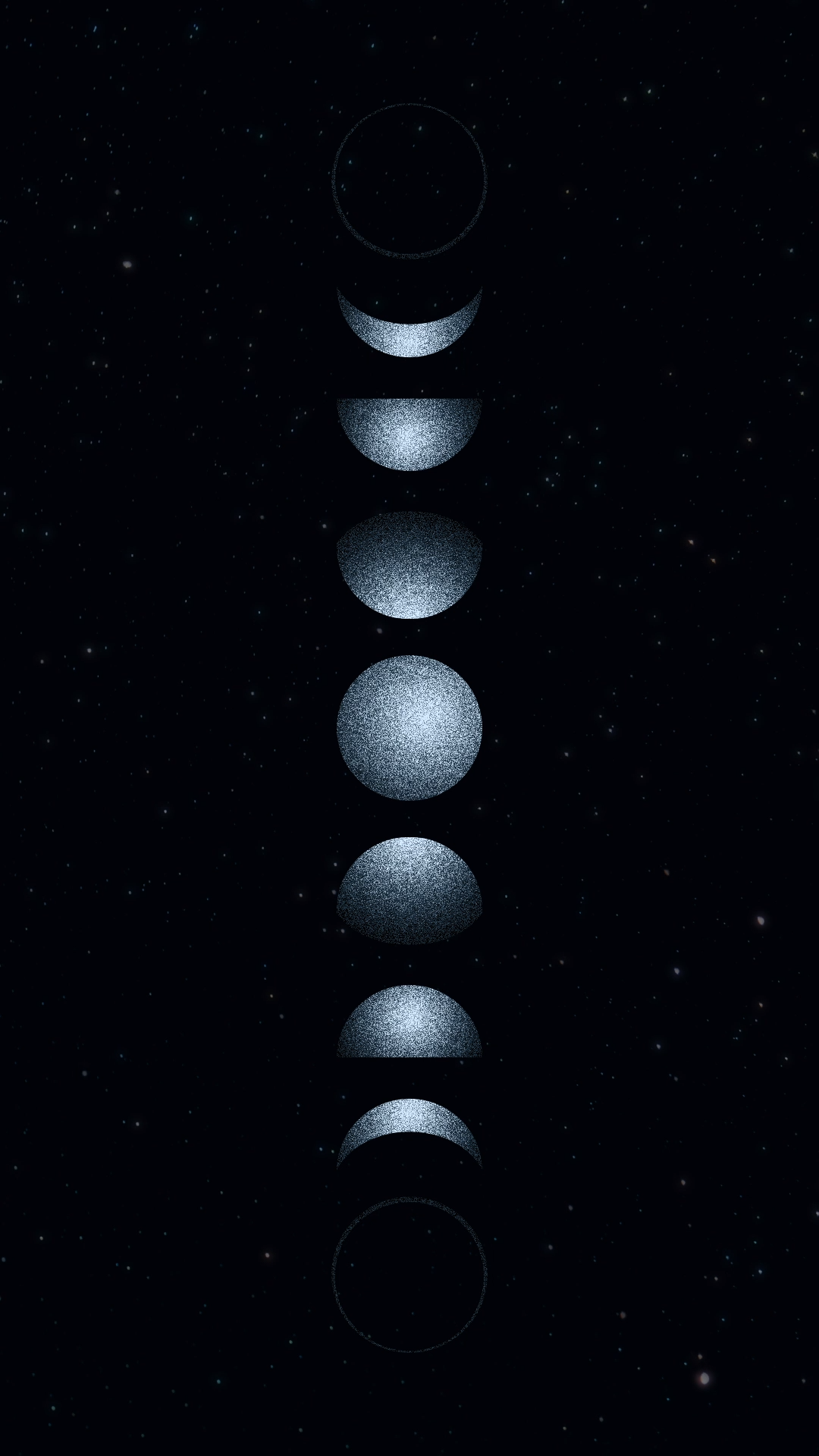 Moon, stars & night sky |an animated Instagram Set by ana & yvy
