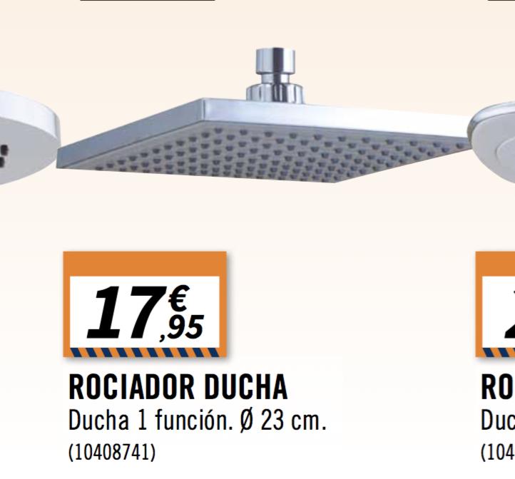 Rociador De Ducha Bricomart 18 Euros Baños