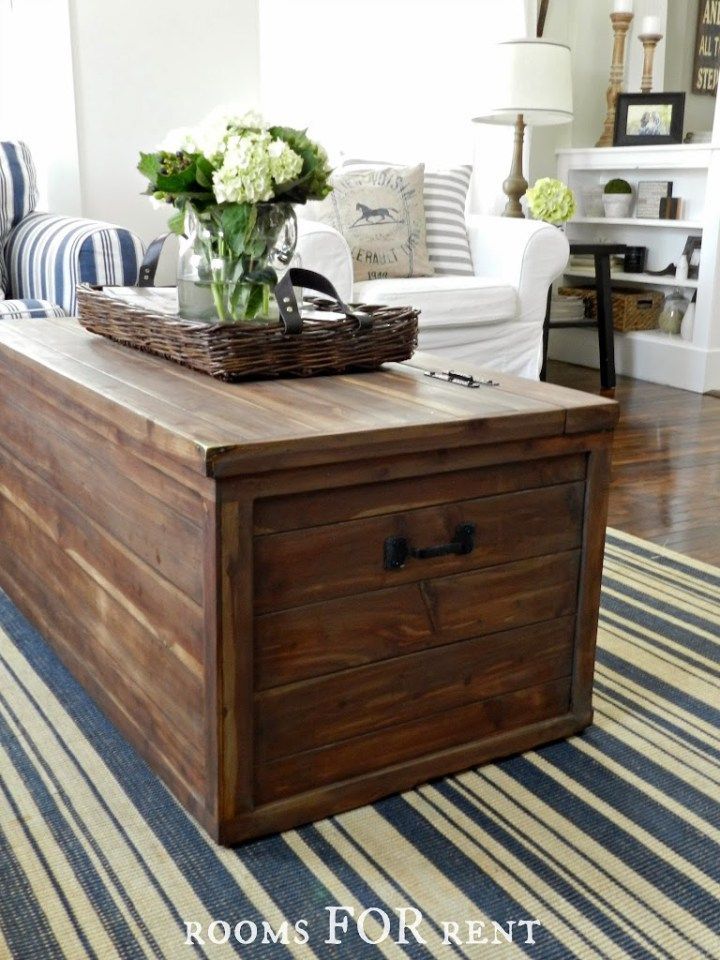 Creating A Neutral Living Room Rooms For Rent Blog Chest Coffee Table Coffee Table Furniture Makeover #small #living #room #chest