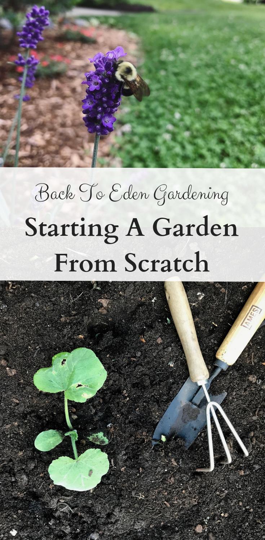 Back To Eden Wood Chip Gardening