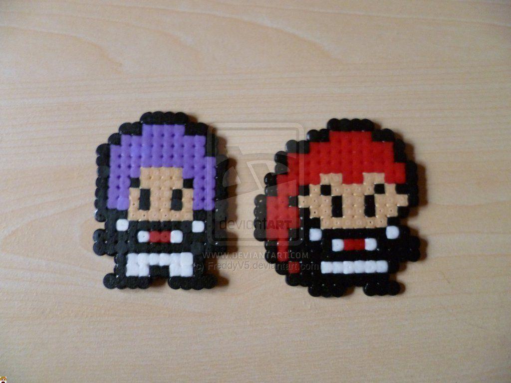 Team Rocket perler beads