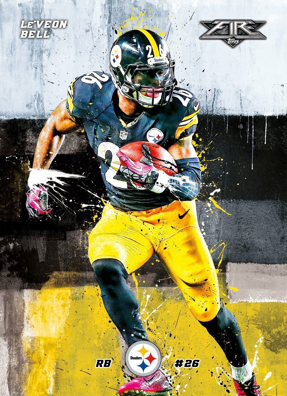Le Veon Bell Pittsburgh Steelers Football Pittsburgh Steelers Players Pittsburgh Steelers Wallpaper