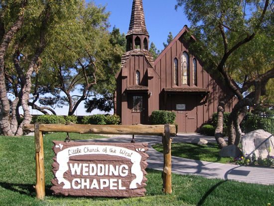 Las Vegas Little Church of the West Wedding Chapel.... where we were married 2012♥♥