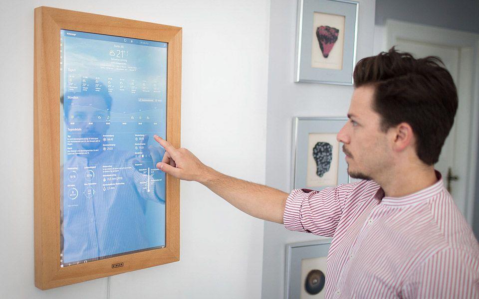 Dirror er et spejl med Windows 10