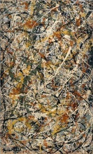 Number 3 - Jackson Pollock...