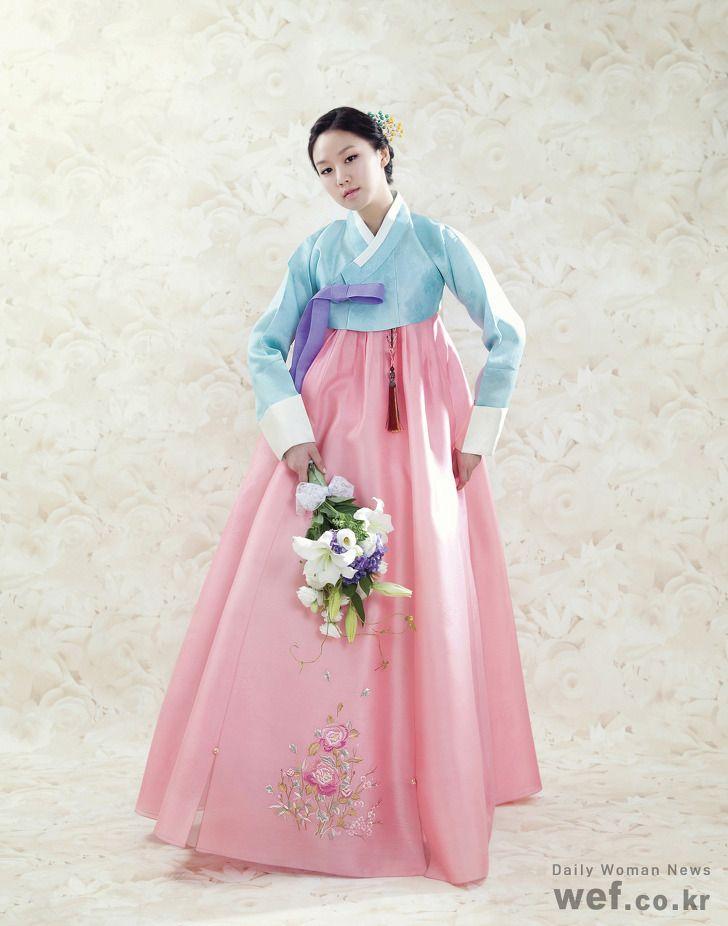 Hanbok, Korean Traditional Dress | Korea - Hanbok | Pinterest | Ropa ...