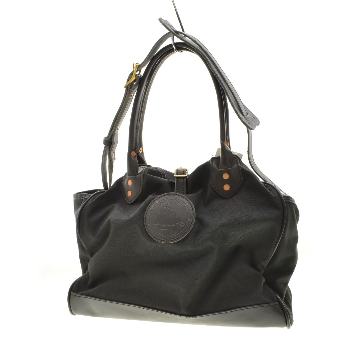Yuketen - Leather Tote Bag (Black)