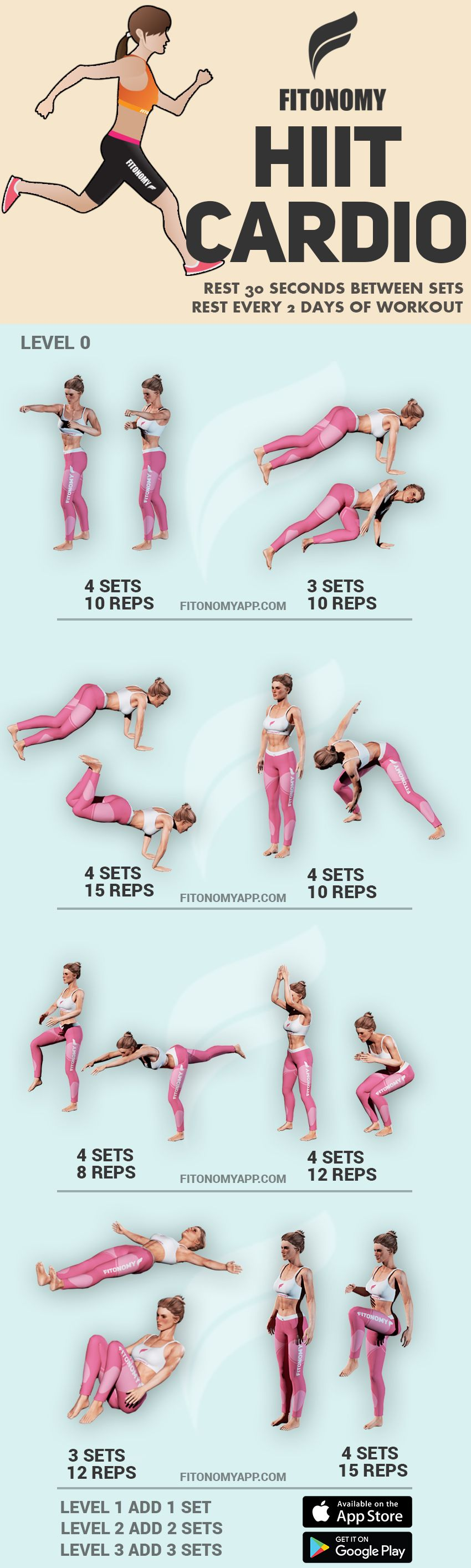 Hiit cardio download fitonomy app for more routines like