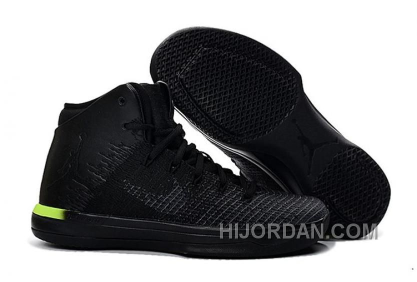 Authentic Air Jordan 31 XXXI Black Grey Red Hot Sale