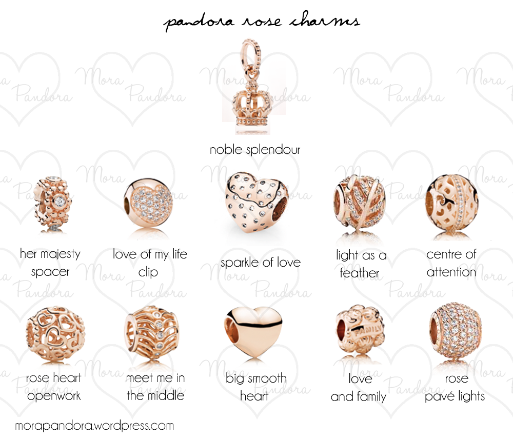 Preview: Pandora Rose Collection Official Release ...