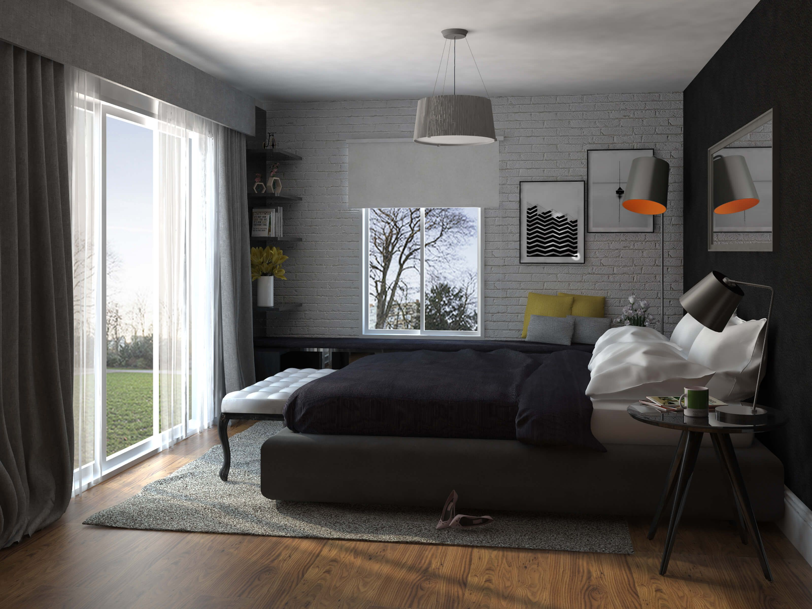 Awesome Before And After Bedroom Renovation Ideas