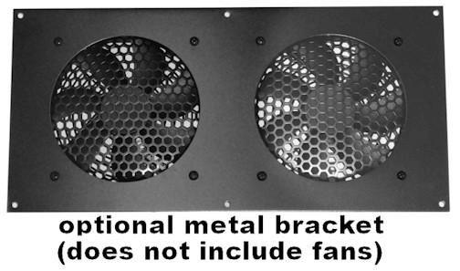 Cg Fan Bracket 120mm Kit For 2 Hole Bare Kit Multimedia
