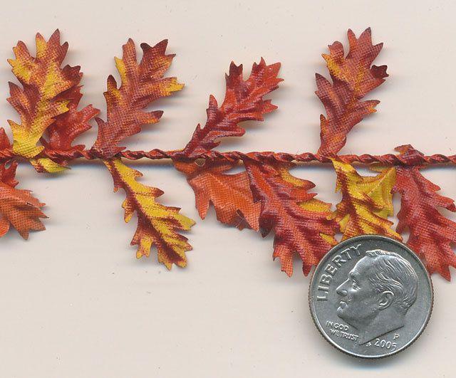 Mini Oak Leaves (per ft.)