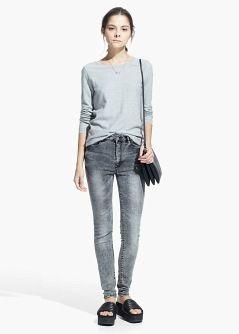 Cotton-blend trench coat - Women | MANGO
