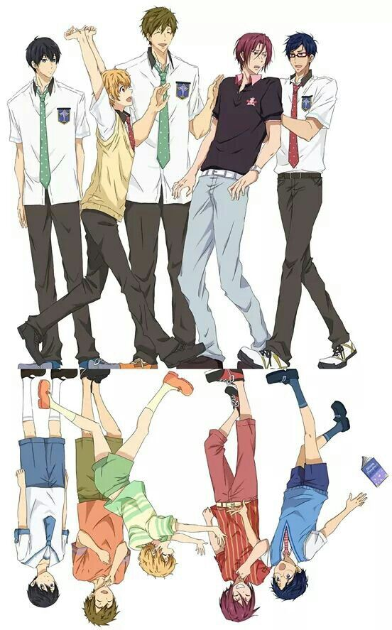 Rin Matsuoka Makoto Tachibana Haruka Nanase Nagisa Hazuki Rei Ryugazaki Free Anime Free Iwatobi Swim Club Anime Stars Oneshots by chanbaeol (b i a n c a) with 11,544 reads. pinterest