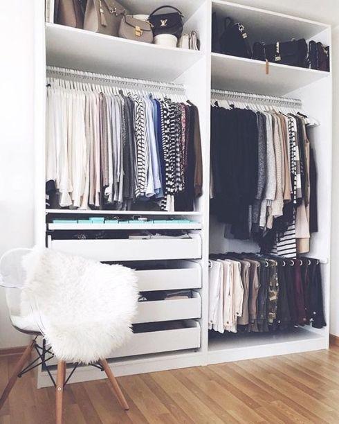 6 conseils d\'organisation pour votre garde-robe | Housey ...