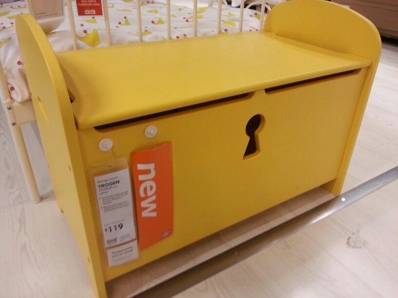 Ikea Storage Bench Trogen 70cm (w) X 39cm (d) X 50cm $119