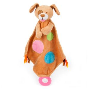 Puppies R Us Pets Blanket Teether Dog Toy Toys Petsmart With