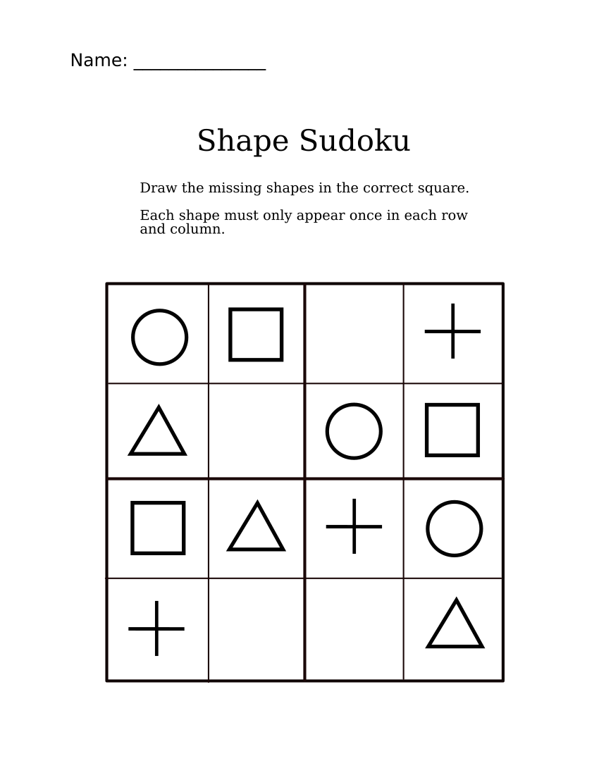 photograph about Sudoku Puzzles Printable Pdf known as Very simple Designs Sudoku for Kindergarteners Sudoku for littles