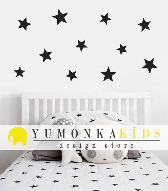 Vinilo estrellas de YumonkaKids www.yumonka.com