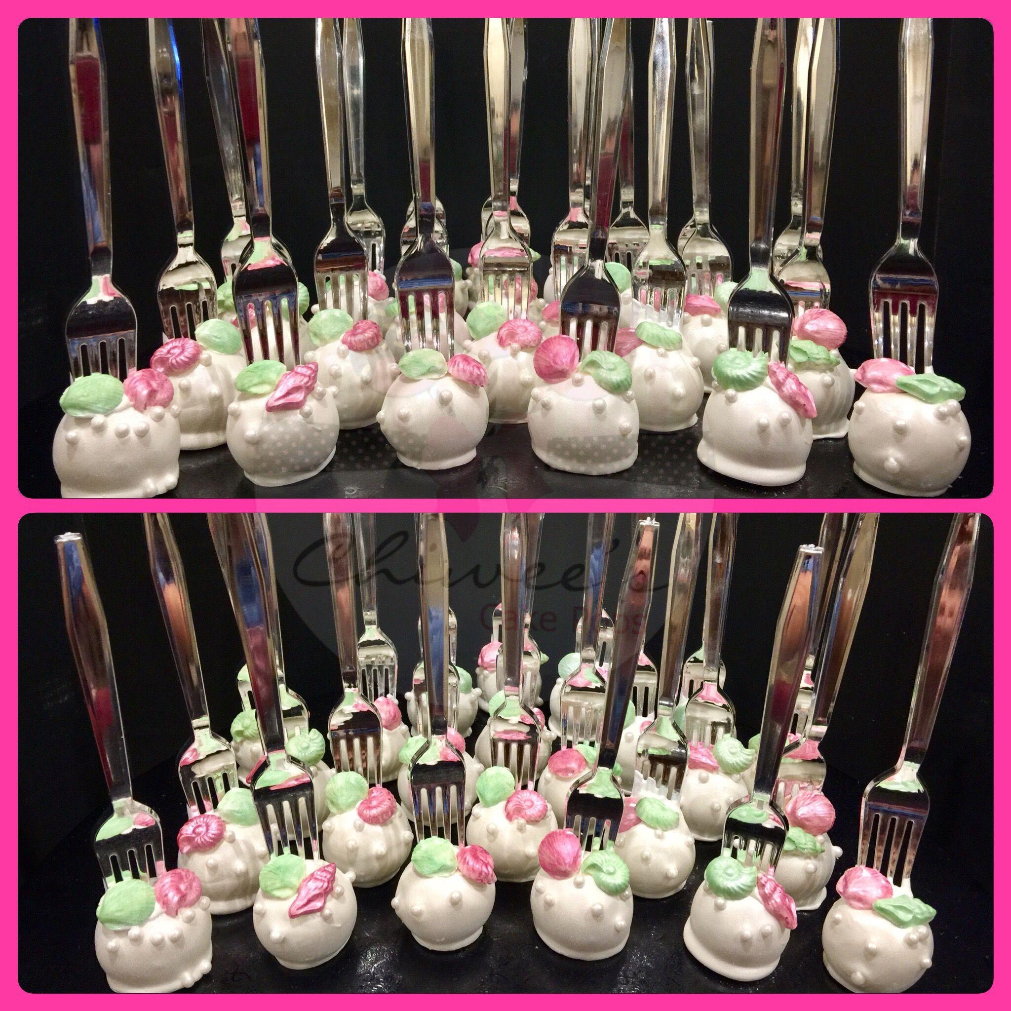 Dinglehopper cake pops little mermaid cake pops ariel cake