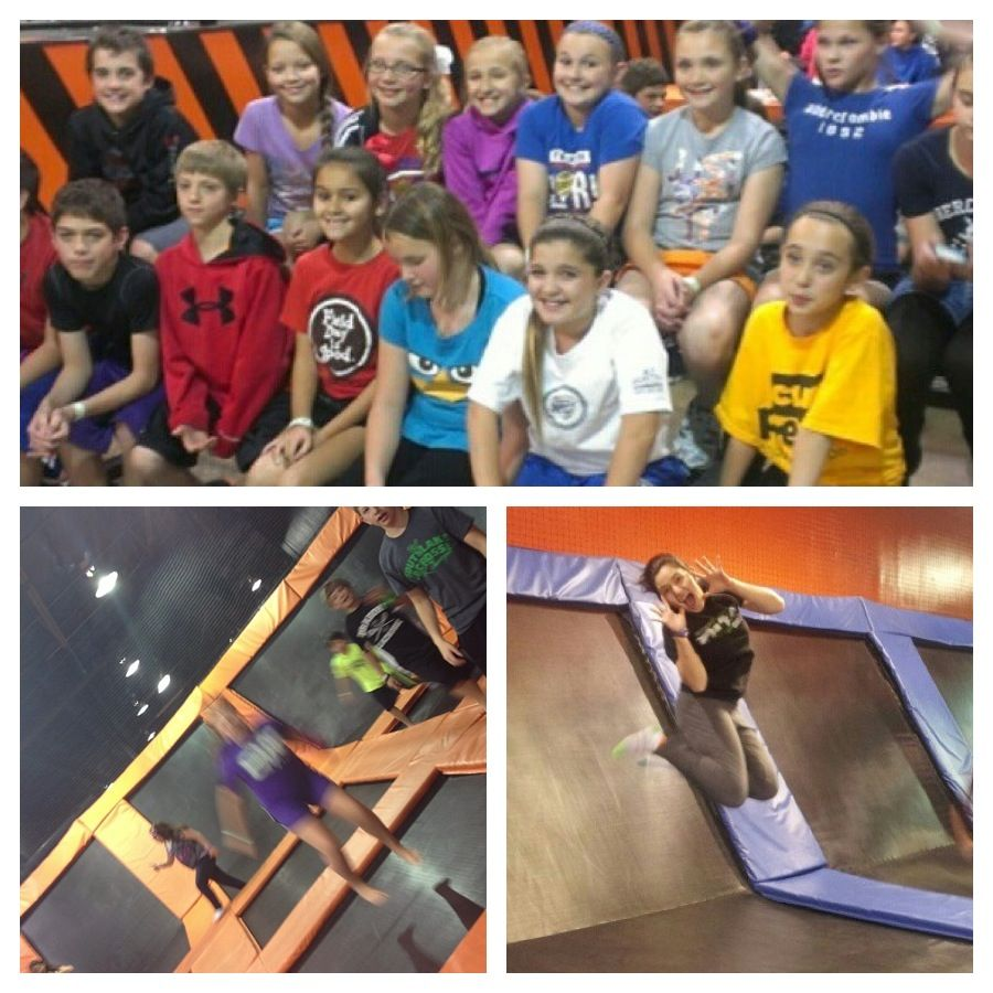 Great photos from the weekend! Trampoline park, Baseball