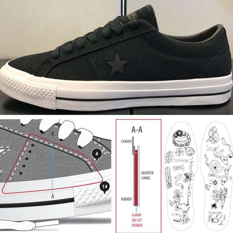 big sale 7f82b a7e93 Converse One Star Pro OX