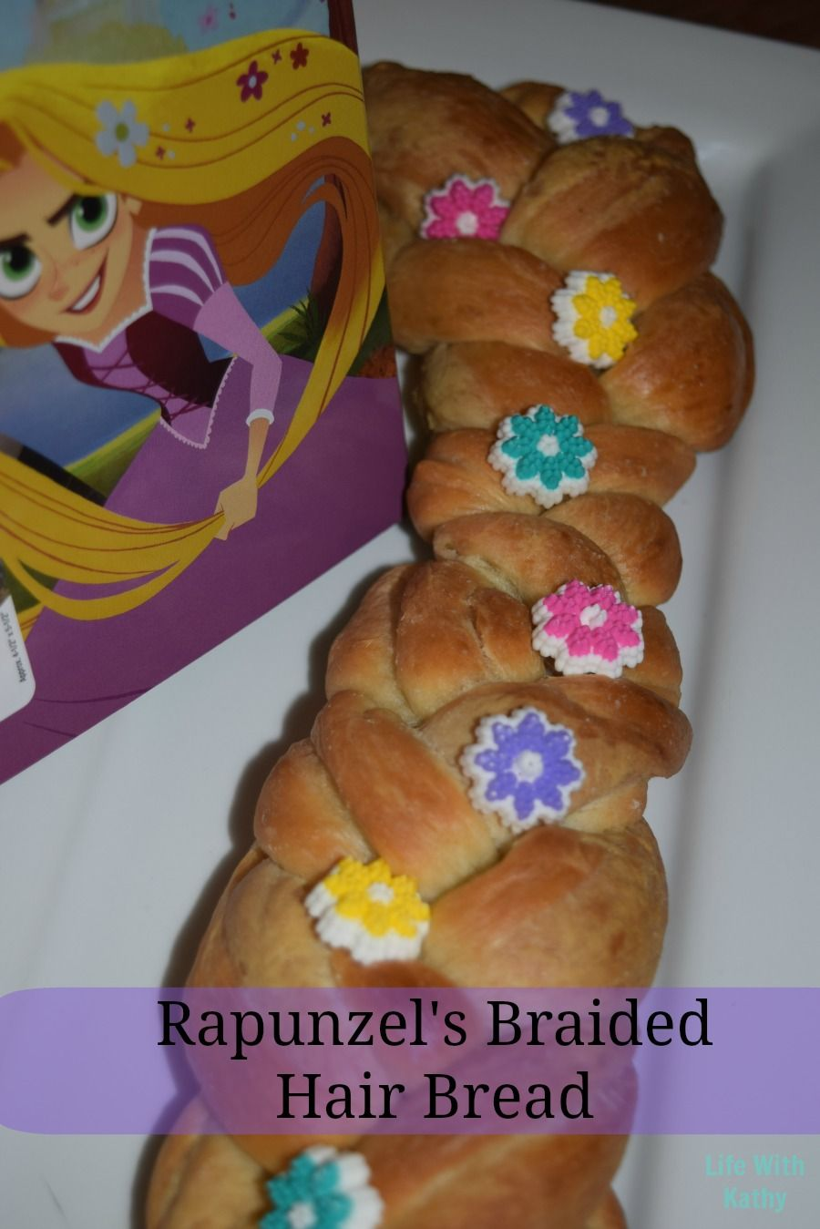 Rapunzelus Braided Hair Bread inspired by Tangled Before Ever After